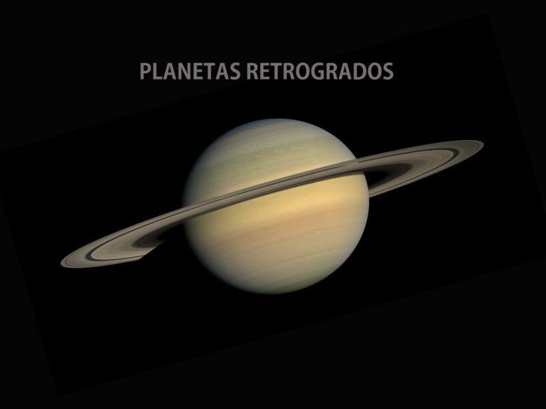 ¿Naciste con algún planeta retrógrado?
